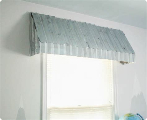 diy window awning how to make gorgeous farmhouse window awnings lovely etc