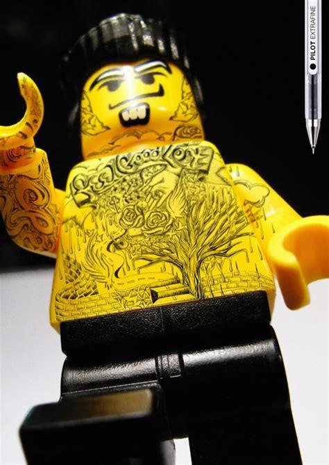 lego tattoo pilot pen tattoo d legoz shockblast