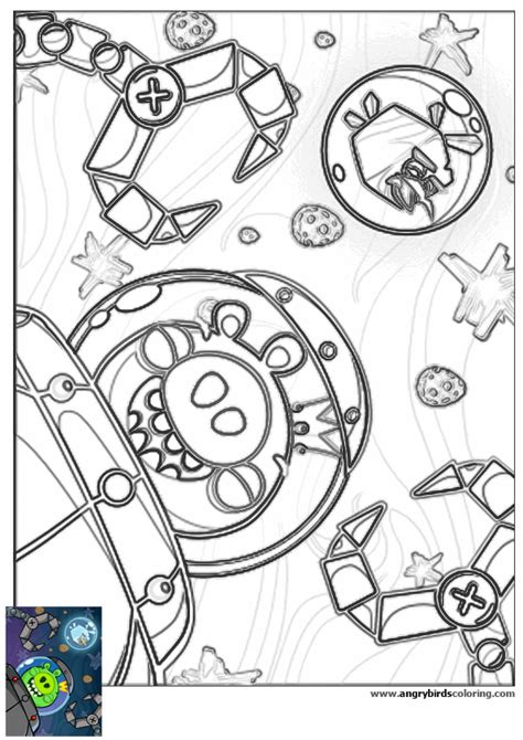 angry birds space for coloring 29