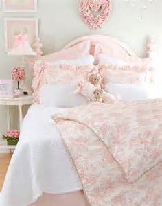 Pink Toile Bedding by Sweet Pink Toile Bedding Bedrooms