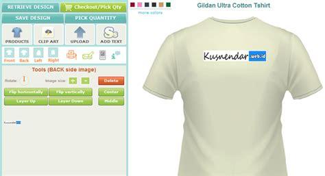Desain Kaos Online | membuat desain kaos online sendiri kusnendar