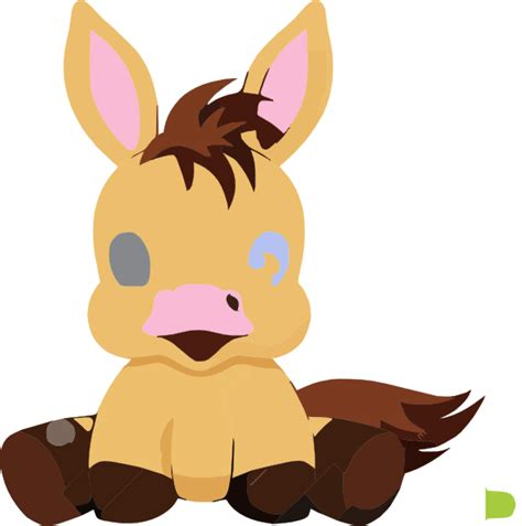 cute cartoon baby pony baby horse cartoon illustration pony very cute clip art at
