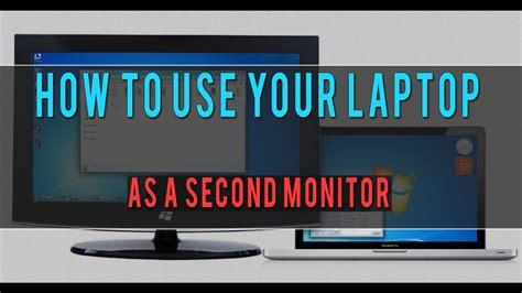 how to use on laptop how to use your laptop as a second monitor synergy