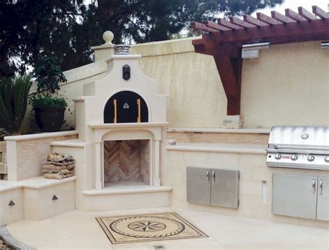 Kitchen Oven And Grill A Beautifully Finished Wood Fired Brick Pizza Oven And Gas