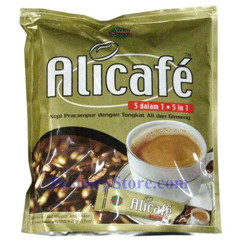 Coffee Tongkat Ali alicafe ginseng coffee