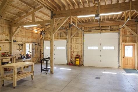 Post And Beam Garage Plans by Post And Beam Garage Construction The Better Garages