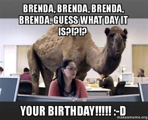 Brenda Memes - brenda brenda brenda brenda guess what day it is