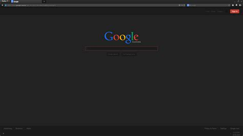 firefox themes stylish dark google theme for stylish by vector chan on deviantart