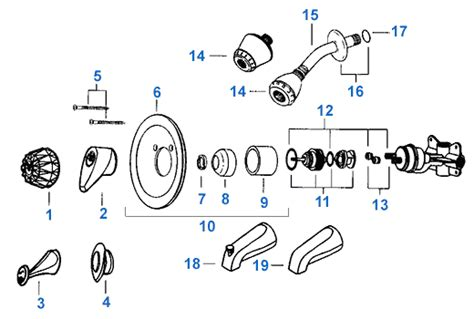 Fix Tub Faucet Valley Single Handle Shower Replacement Parts