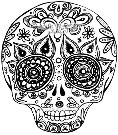 day of the dead skull coloring pages day of the dead skull coloring pages bestofcoloring