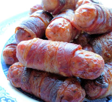 Pigs In Blankets Cooking Time by Pigs In Blankets Bacon And Sausage Rolls For