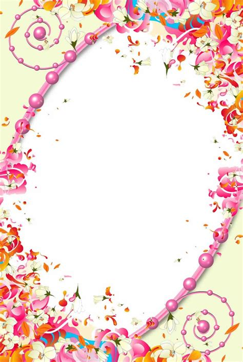 frame for pictures flower frame png frame