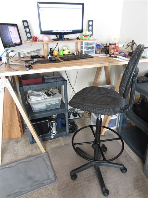 standing desk design standing desk chair drafting comfortably standing desk