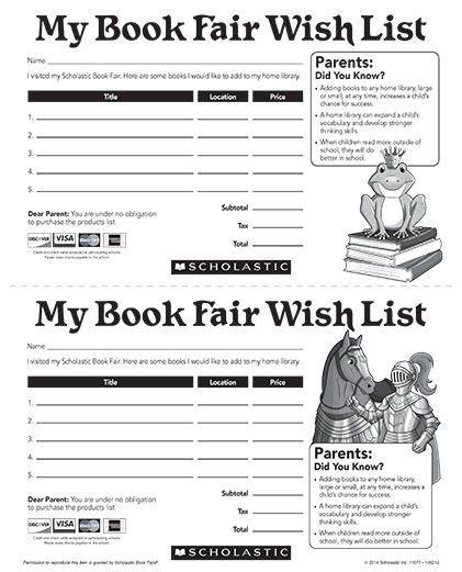 scholastic book fair flyer template scholastic book fair gift certificate template scholastic