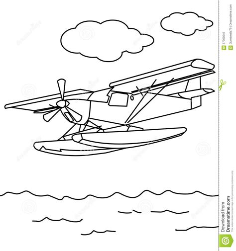 water plane coloring page kawasaki jet ski sxr 800 color paper at yescoloring