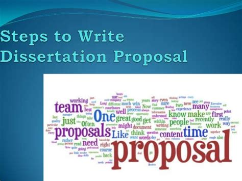 steps in writing a dissertation steps to write dissertation
