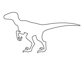 Dinosaur Stencil Printable