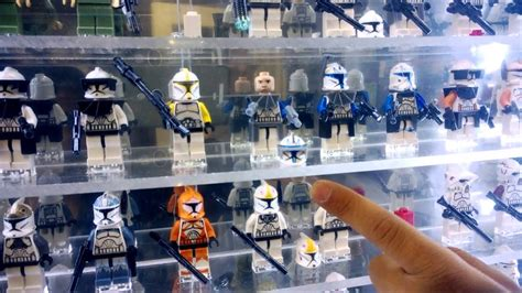 epic lego star wars minifig display tutorial
