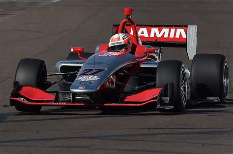 Indy Lights by Barber Indy Lights Jamin Triumphs In Race 1