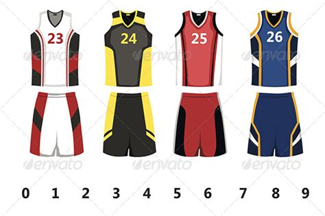 jersey design illustrator basketball jersey by artisticco graphicriver
