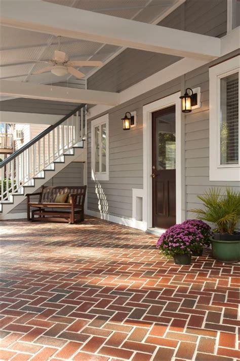 porch garage addition   historic home