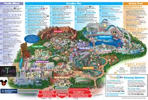 disney california adventure park map here s a reminder of what disney california adventure