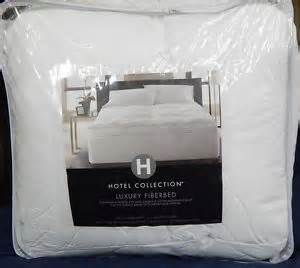 hotel collection mattress hotel collection bedding king luxury fiberbed mattress pad
