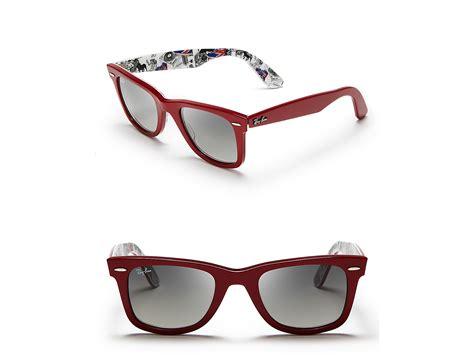 Rayban Wayfarer Print ban inside print wayfarer sunglasses in for