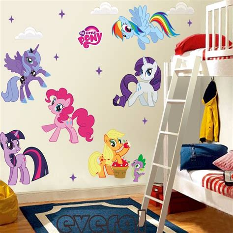 Pony Room Decor by Pony Mural Vinyl Wall Decals Sticker For