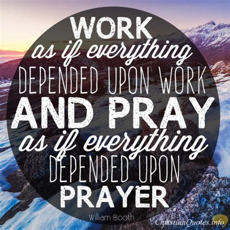 Work And Pray Black Eybv william booth quotes quotesgram