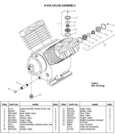 leroi air compressor parts diagram downloaddescargar