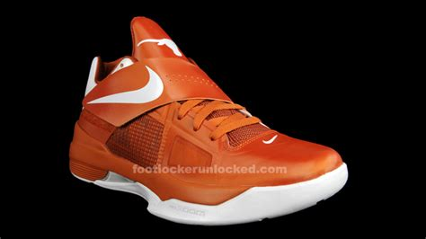 longhorns basketball shoes nike kd iv foot locker