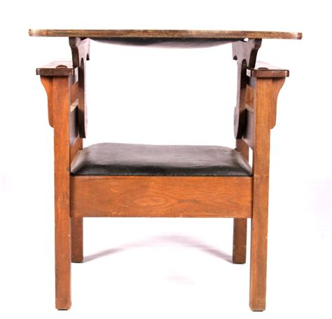 convertible high chair to table and chair antique mission oak convertible table chair