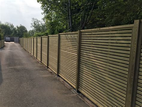 contemporary fence contemporary fence panels trentwood fencing