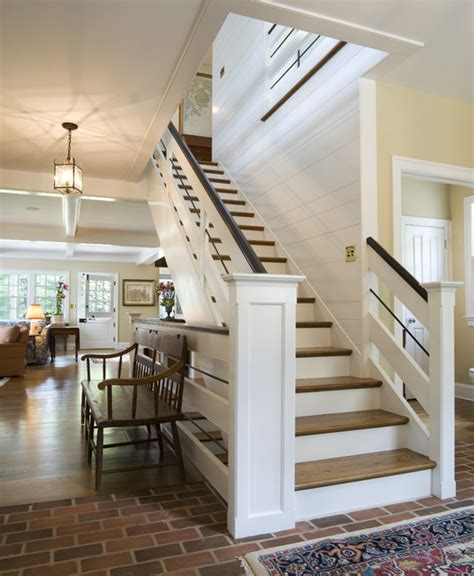 Cottage Staircases canary cottage staircase traditional staircase philadelphia by archer buchanan