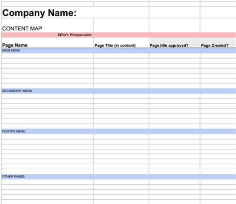 It Project Plan Template by A Simple Project Plan Template To Collaborate On Web Content