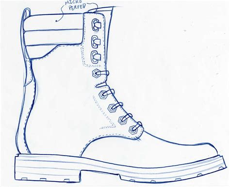 how to draw a army boat step by step military boot drawing www imgkid the image kid has it