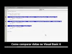Comparar Imagenes Visual Basic | como comparar datas no visual basic 6 youtube