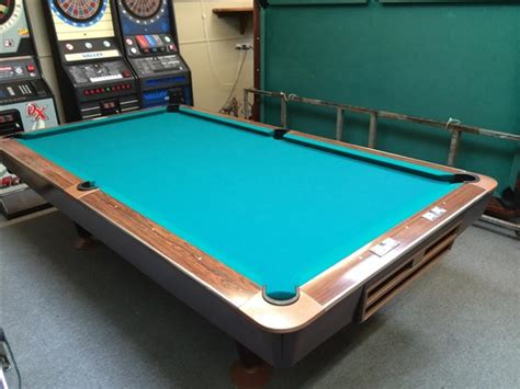 used pool tables ta fl brunswick gold crown 9 foot used