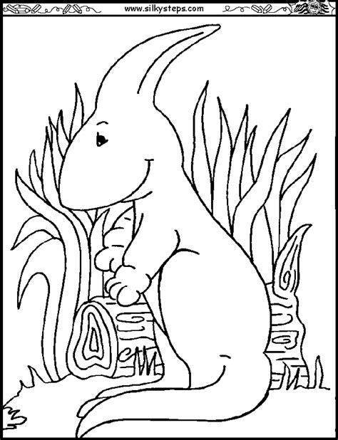 Parasaurolophus Coloring Page Coloring Home Parasaurolophus Coloring Page