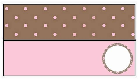 Pink Polka Does It Again Pet Pet Pet Product 5 by Brown And Pink Polka Dots Free Printable Bar Labels