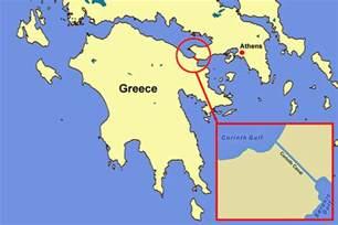 corinth greece map