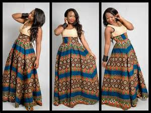 Simple and unique ankara style long gown debonke house of fashion