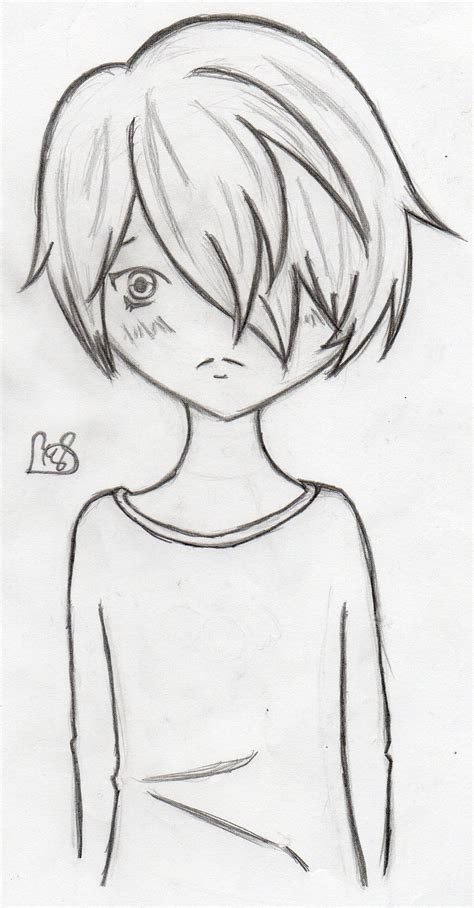 Easy Simple Sad easy drawings to draw sad boy a sad boy in pencil drawings pencil