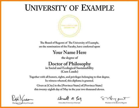 graduation certificate template 6 graduation certificate template sle of