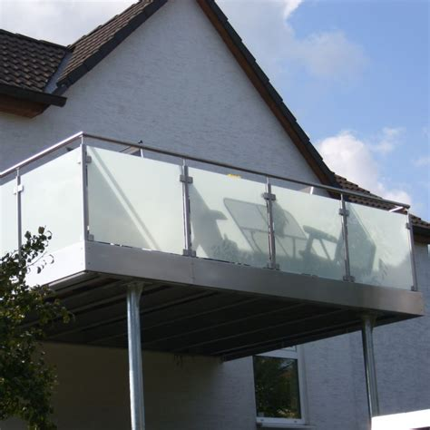edelstahl balkon edelstahl balkon mit glas simple home design ideen yunz us