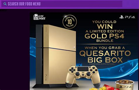 www tacobell com winps4 ps4 bundle sweepstakes - Taco Bell Ps4 Sweepstakes
