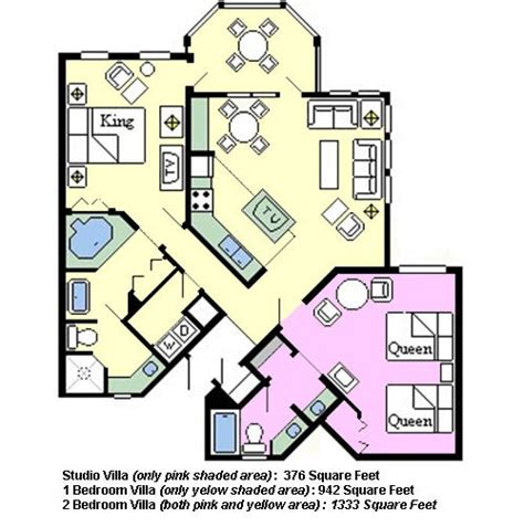 old key west 2 bedroom villa floor plan disney s old key west thedibb