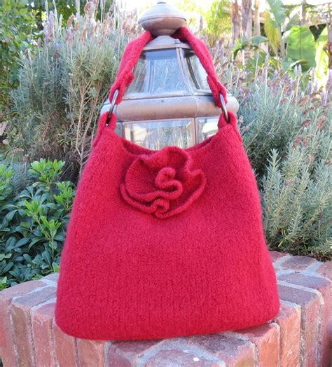 felted purse knitting patterns knit bag pattern felted purse pattern knit by