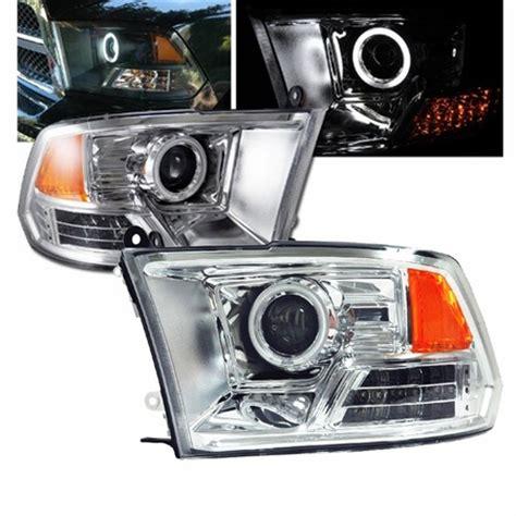 2013 ram 2500 headlights 09 13 dodge ram 1500 2500 3500 ccfl eye halo